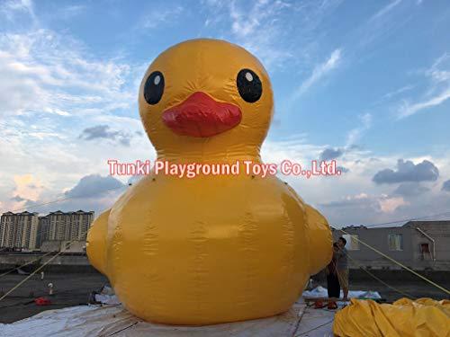 VGZ 6 Meter riesige aufblasbare Promotion-Ente/gelbe Ente zum Schwimmen im Pool