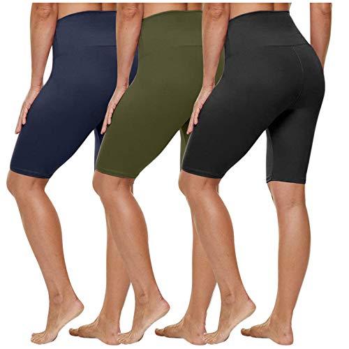 ZODOF 3PC Leggins Leggings Mujer Push Up Leggings para Mujer Mallas de Deporte de Mujer Mallas Pantalones Deportivos Alta Cintura Elásticos Yoga Fitness Leggins
