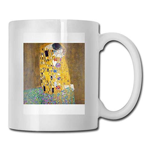N\A Gustav Klimt - Vasos de cerámica The Kiss Código 330ml