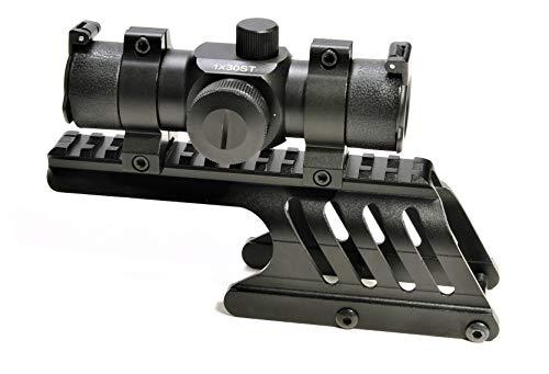 Hammers Shotgun Slug Gun Red Dot Reflex Sight and Saddle Scope Mount Kit for Remington 12GA 870