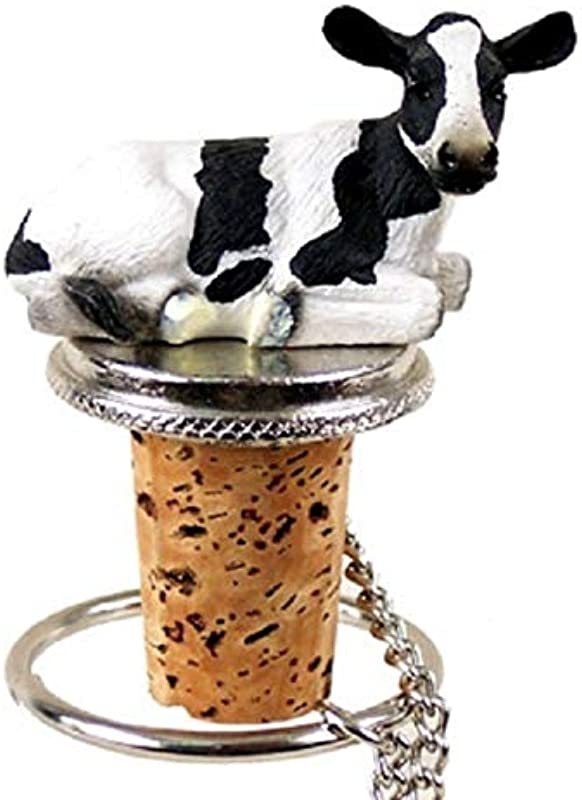 Conversation Concepts Holstein Cow Bottle Stopper