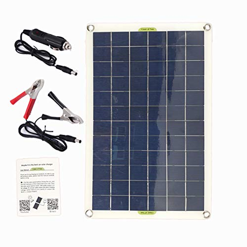 Panneau solaire poly de cellules solaires de sortie d'USB de panneau solaire de 50W pour le chargeur de batterie 12V/24V