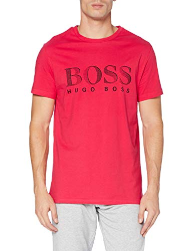 BOSS T-Shirt RN Camiseta, Rosa, XS para Hombre