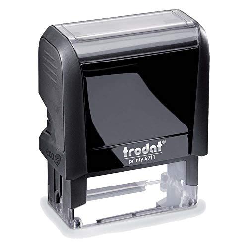Timbro Autoinchiostrante Personalizzato misura mm. 38X14 Completo di Personalizzazione - Timbri per Ufficio - Timbri Automatici - Timbri per Medici