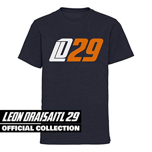Scallywag® Eishockey Kids T-Shirt Leon Draisaitl LD29 I Größen S - XL I A BRAYCE® Collaboration (offizielle LD29 Kollektion vom NHL Edmonton Oilers Star) (L (140))