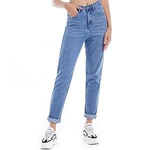 Mom Jeans for Women, High Waist Women's Boyfriend Denim Jeans