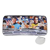 Classic Imports Star Trek Sunshade - The Original Series Kirk and Spock Tribbles Funny Auto Car Windshield Sun Shade Screen