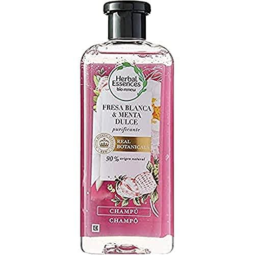 Herbal Essences Bío: Renew reinigen Shampoo mit weißer erdbeere und süßer Minze 400 ml