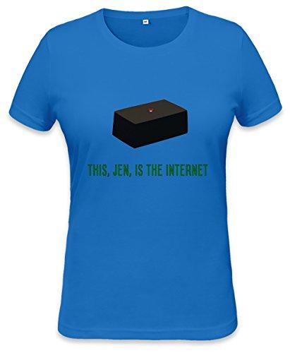 The Internet Womens T-shirt Small