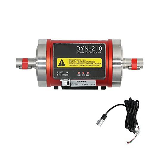 Sensor De Torsión Giratorio, Instrumento De Medición De Velocidad De Potencia De Motor Dinámico Con RS485 DC24V DYN-210 Compatible Con Protocolo De Carga Activa(0-20N.M)