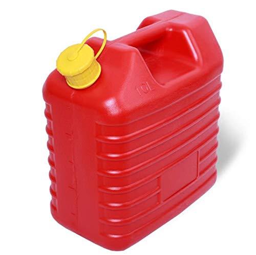YUFHBDI Dik Plastic Olie Trommel Benzine Drum, 5L 10L 20L Diesels Drums Brandstof Tank Auto Spare Benzine Tank, Road Kleine Boot Reizen Draagbaar Vervoer Brandstof Vat, Duurzaam