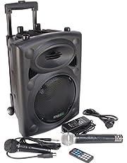 Ibiza Port8VHF-BT Mobile PA-box Bluetooth USB SD 200W RMS met boksstandaard