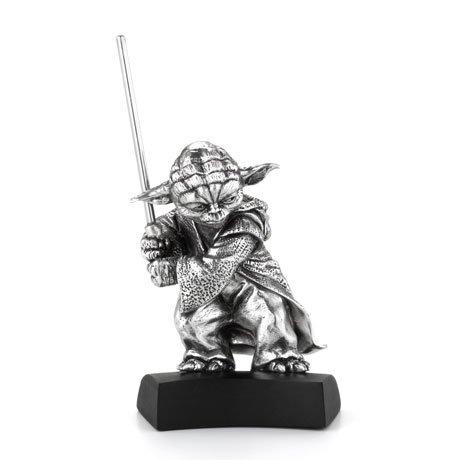 Royal Selangor Star Wars Pewter Collectible Statue Yoda 12 cm
