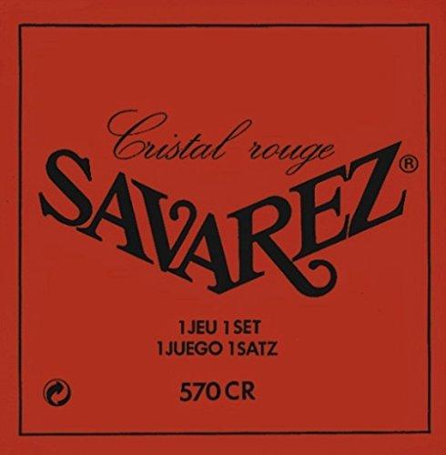 Savarez 570CR Cristal Rouge Tirant normal - Jeu de cordes guitare classique