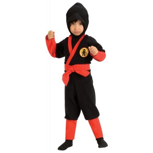 Rubies 885295-T Ninja kostuum voor kinderen (1-2 jaar)