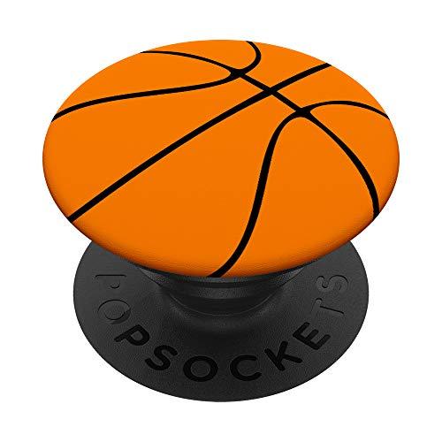 Basketball Fan Sportler Geschenk für Basketballspieler PopSockets PopGrip: Ausziehbarer Sockel und Griff für Handys/Tablets mit Tauschbarem Top