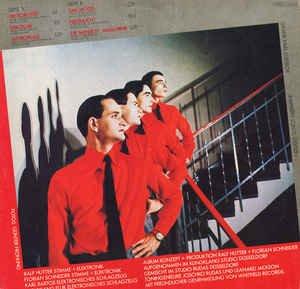 """KRAFTWERK / DIE MENSCHEN-MASCHINE / 1978 / Bildhülle mit illustrierter Innenhülle / EMI # 1C 058-32 843 / 05832843 / Deutsche Pressung / 12"""" Vinyl Langspiel-Schallplatte - 6"""