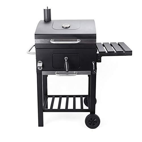 SSG Home Conception Portable Barbecue Accueil Cuisine Pique-Nique de Haute qualité épais Barbecue au Charbon avec Camping Sauvage Pique-Nique Pliante étagère Stable et Durable