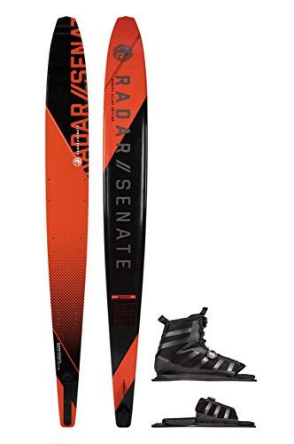 Radar Alloy Senate 67' Slalom Waterski w/BOA Vector Boot (7-11) & BOA Adj. Rear Toe Plate