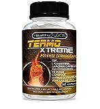 Termogénico con acción quemagrasas adelgazante | Garcinia cambogia + l-carnitina + CLA + glucomanano + té verde | Estimula el metabolismo, reduce el apetito y mejora tus entrenamientos | 90 cápsulas