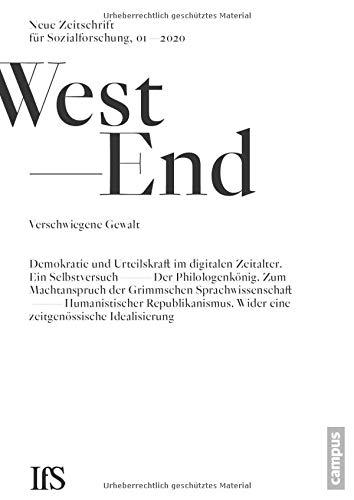WestEnd 1/2020: Verschwiegene Gewalt: Neue Zeitschrift für Sozialforschung