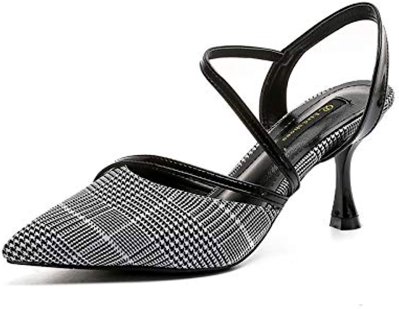 ProDIgal Women's Ideal High Heel Dress Pump shoes