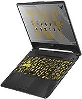 """ASUS TUF Gaming A15 Gaming Laptop, 15.6"""" 144Hz FHD IPS-Type, AMD Ryzen 7 4800H, GeForce GTX 1660 Ti, 16GB DDR4, 512GB..."""