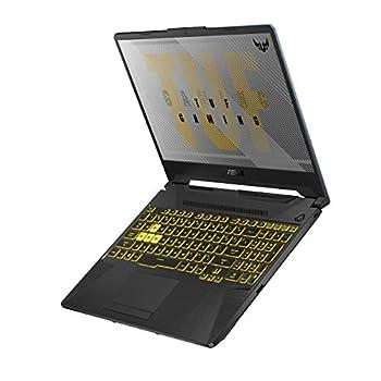 """ASUS TUF Gaming A15 Gaming Laptop 15.6"""" 144Hz FHD IPS-Type AMD Ryzen 7 4800H GeForce GTX 1660 Ti 16GB DDR4 512GB PCIe SSD Gigabit Wi-Fi 5 Windows 10 Home Metal TUF506IU-ES74"""