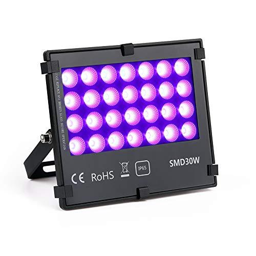 30W led Flood Light,Purple Color IP66 Waterproof for Outdoor Lighting