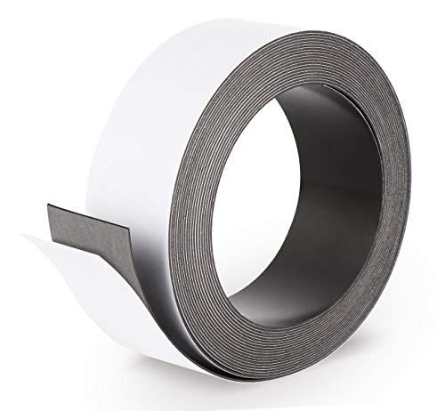 Ferroband Eisenband selbstklebend 500 x 3,5 cm Magnetband selbstklebend schneidbar für Magnete Schilder Piktogramme Präsentationsmaterial Whiteboard
