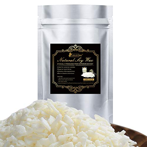 3.5 LB All-Natural Soy Wax Flakes for Candle Making Candle Wax Bulk DIY Soy Bean Wax