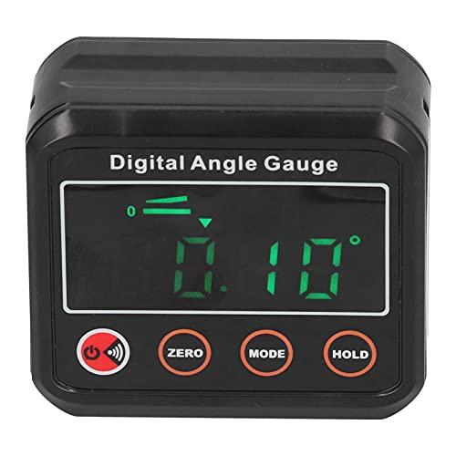 Indicador de ángulo, el sonido de 89 ° a 90 ° hecho de inclinómetro digital ABS para nivel de carpintería digital(DL1912)