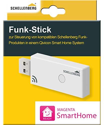 Schellenberg 21009 Magenta SmartHome Funk-Stick zur Steuerung von Schellenberg Funk-Produkten in einem QIVICON Smart Home System