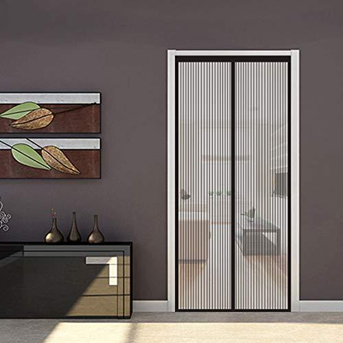ERPENG Cortina Mosquitera 120x235cm Adsorción magnética, Cortina Ultrafina Insectos Mosquito Door Screen...