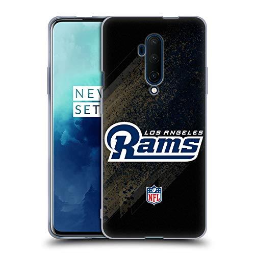 Officiële NFL Waas Los Angeles Rams Logo Soft Gel Case Compatibel voor OnePlus 7T Pro