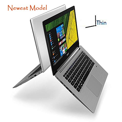 Acer Swift 3 SF314-52 Slim & Portable Laptop 8th Gen. Quad Core Intel Core i5 up to 3.4GHz 8GB 256GB SSD 14in Full HD Gorilla Glass HDMI Cam Fingerprint Reader Backlit Keyboard (Renewed)