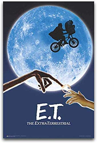 Jigsaw Puzzles 1000 E.T. The Extra-Terrestrial Movie Postermodern Art Wall Decoration Pictures,Suitable forliving Room,Study,Ballroom