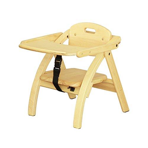 大和屋 アーチ木製ローチェア N ライトブラウンLB 曲木を使ったおしゃれなデザインチェア