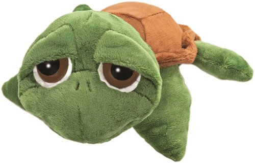 Li'l Peepers 14005 - Original Suki Stofftier Schildkröte Rocky, 15.2 cm, grün