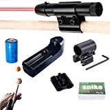 Pool Cue Láser Síght,Billiard Practice Aids,Snooker Aiming Aid,Billiard Collimation Training Device Practice Aid Corrector,Precise Shots Guide for Beginners,Billiards Accessories Improve Aid (Red)