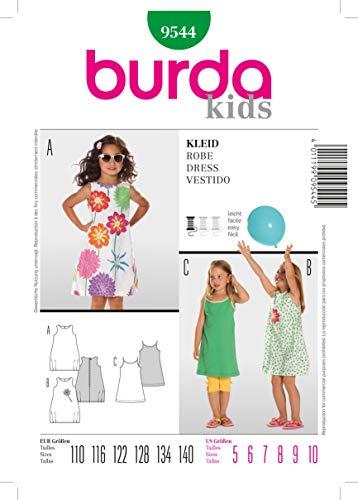 Burda Schnittmuster 9544 Kleid Gr. 110-140