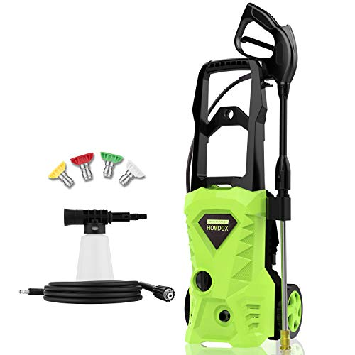 Homdox 2500PSI Electric Pressure Washer Now $106.99