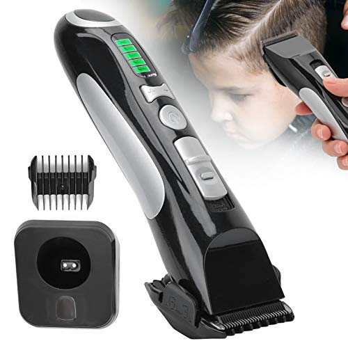 Cortadora de cabello profesional, potente cortadora de cabello con motor, proporciona una carga rápida suave para el hogar de peluquería