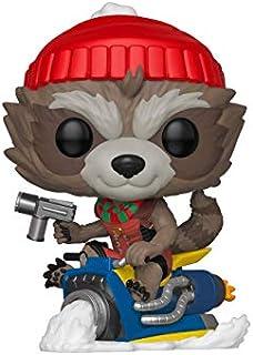 Funko Pop! Marvel: Holiday - Rocket Raccoon On Sled