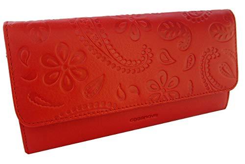 LoveMe Collection. Fabriqué en Espagne. 100% cuir véritable. Portefeuille/porte-monnaie femme