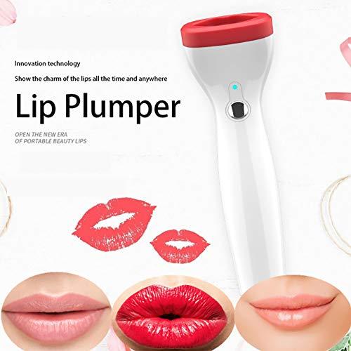 QIYE Lip Plumper, Weiches Silikon Elektrische Fuller Lip Gesichts-Beauty-Tool 3 Geschwindigkeit Einstellbar Für Sexy Lips Frauen Und Mädchen, erbesserung Der Lippe