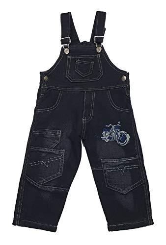 Fashion Boy Thermo Jeans Latzhose in Schwarz, Gr. 12 Monate, JT25