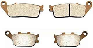 Volar Sintered HH Front & Rear Brake Pads for 1998-2002 Honda Shadow Aero 1100 VT1100C3
