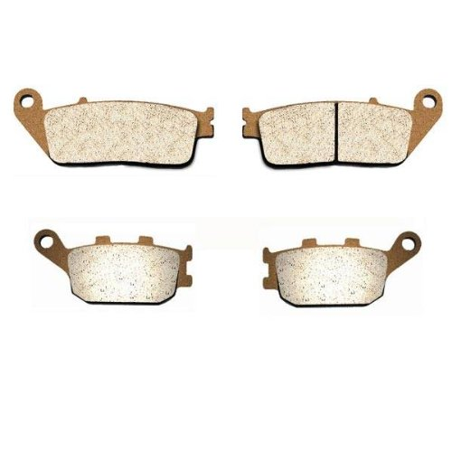 Sintered HH Front & Rear Brake Pads 98-01 Honda Shadow ACE 1100 Tourer VT1100T