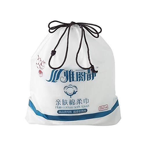 80 Stks Multi-purpose Wegwerp Gezicht Handdoek Gezichtsreiniging Katoenen Pads voor het verwijderen van Gezicht Oogmake-up en Nagellak